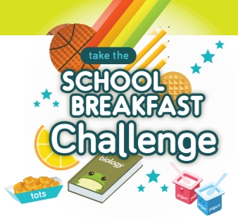 Are your kids getting a good breakfast? Take the school breakfast challenge and understand the benefits of breakfast and education.